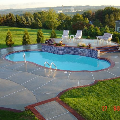 The Atlantic Fiberglass Pool