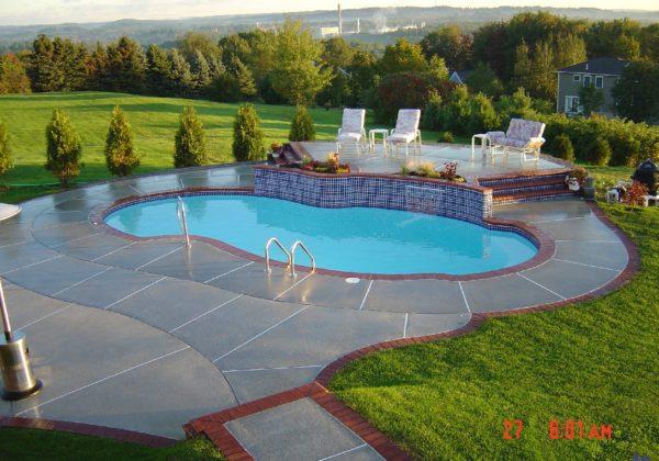 The Atlantic Fiberglass Pool