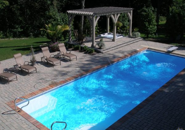 "The Luxor Deep is a remarkable fiberglass swimming pool that offers a bold 7' 10"" deep end & long body. It's a great swimming pool for lap swimmers & divers alike. Bring the Luxor Deep into your home for a large and enjoyable outdoor swim space!"