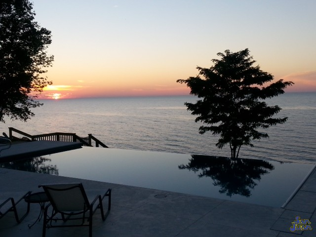 Such a stunning view! The Monte Carlo looks breathtaking during this bay side sunset. We believe it's time for you to get a glimpse of a beautiful fiberglass swimming pool in your own backyard.