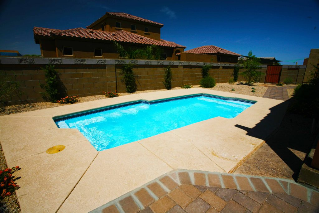 The Malibu is a unique fiberglass pool shape that breaks the mold of your traditional swimming pool.
