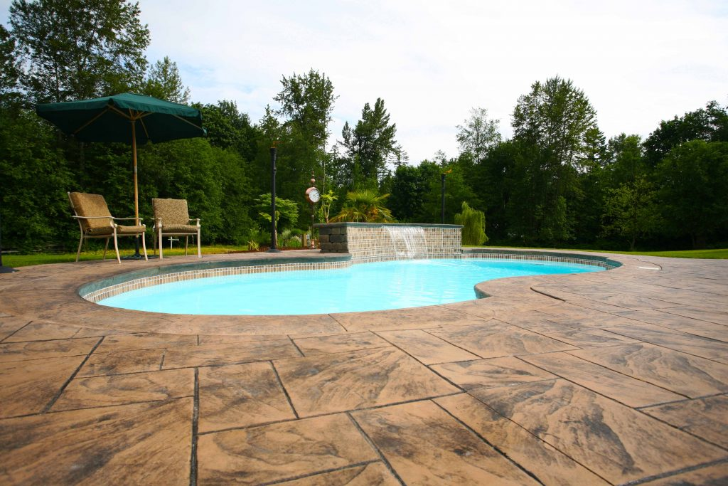 The Venetian is a widely popular fiberglass pool design that's been a focal point for our clients since its inception.
