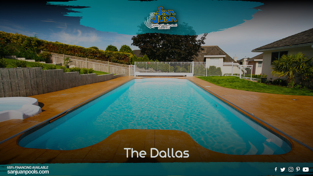 the Dallas is our way of bringing home the vast square footage of Texas to your backyard!