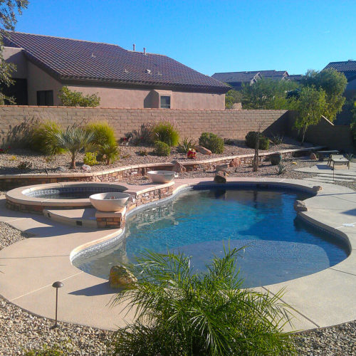 Welcome to the Costa Azul free form fiberglass pool! This elegant pool design takes us to a world of serene lagoons and relaxing oases. Here you can completely relax and unwind in this elegant fiberglass pool with all of its hidden features!