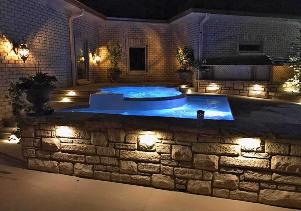 The Fun Deck is a totally different type of fiberglass spa that we offer. It is much different from any other spa model because this spa comes with an attached Splash Pad (fun for all ages). Therefore, you can enjoy our Fun Deck for cooling off in the heat of the summer or warming up in the chill of the winter. The choice is yours!