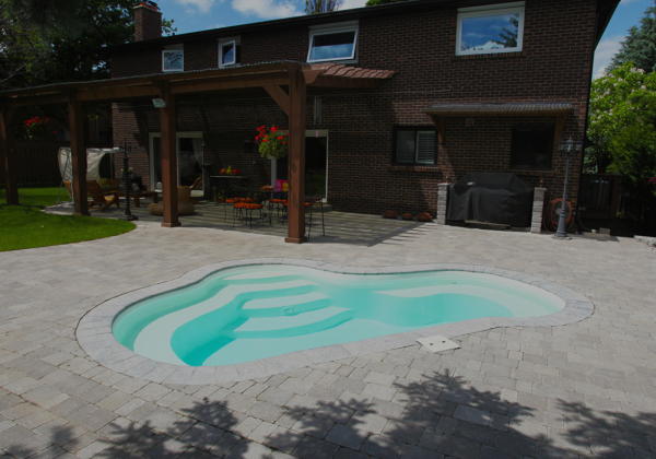 The Crystal Springs – Fiberglass Pool and Spa Hybrid Model