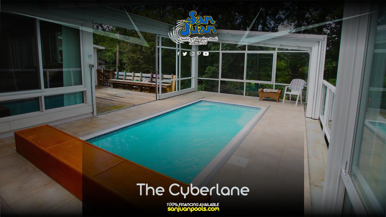 The Cyberlane – A Rectangular Pool Shape
