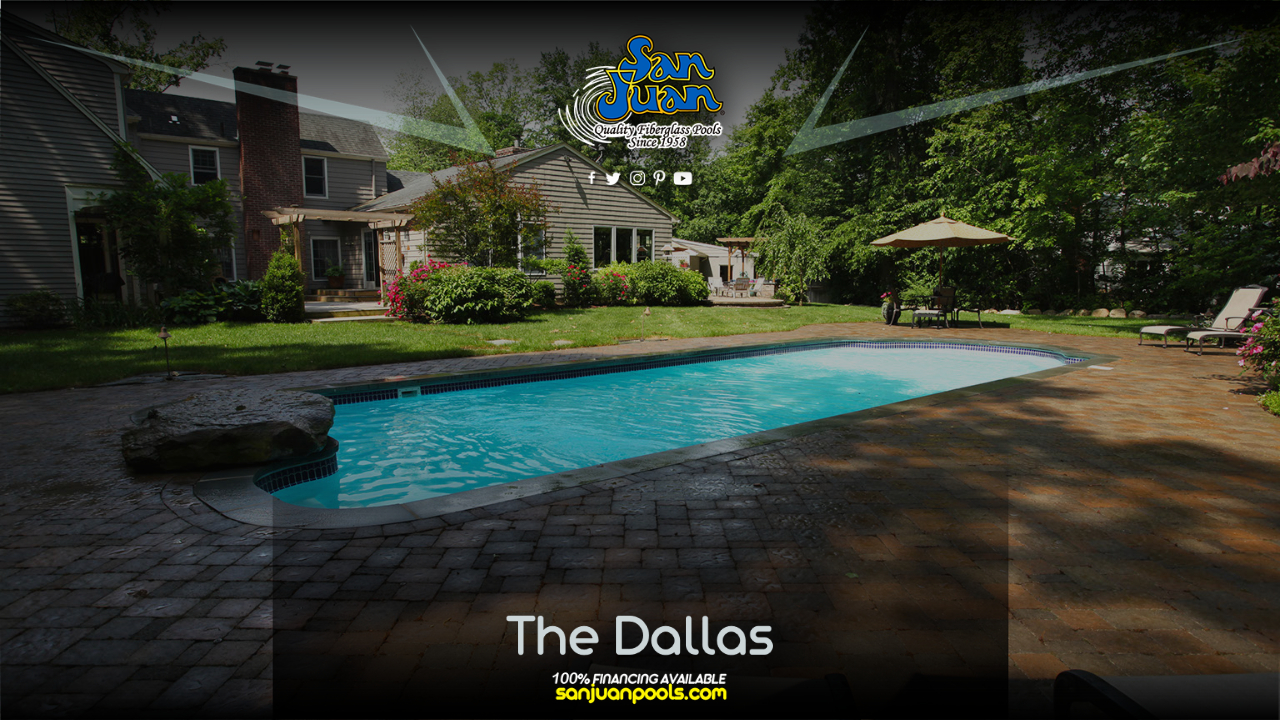 The Dallas fits into our largest category of shell sizes due to its total length of 41′ 5″.