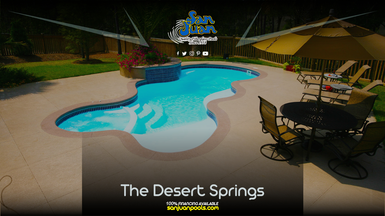 The Desert Springs – A Brilliant of Free Form Design