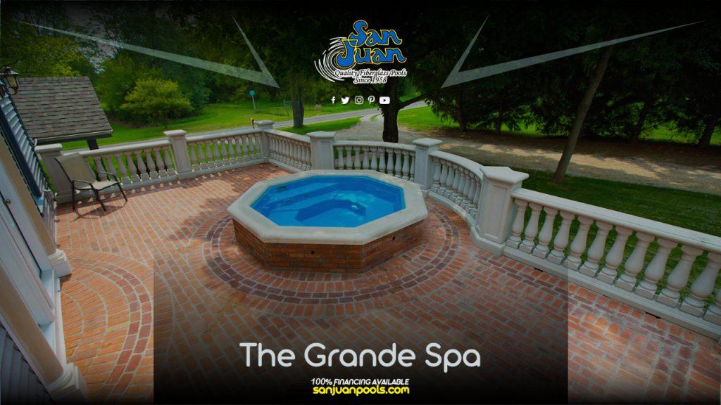 The Grande Spa - A Unique Octagon Layout