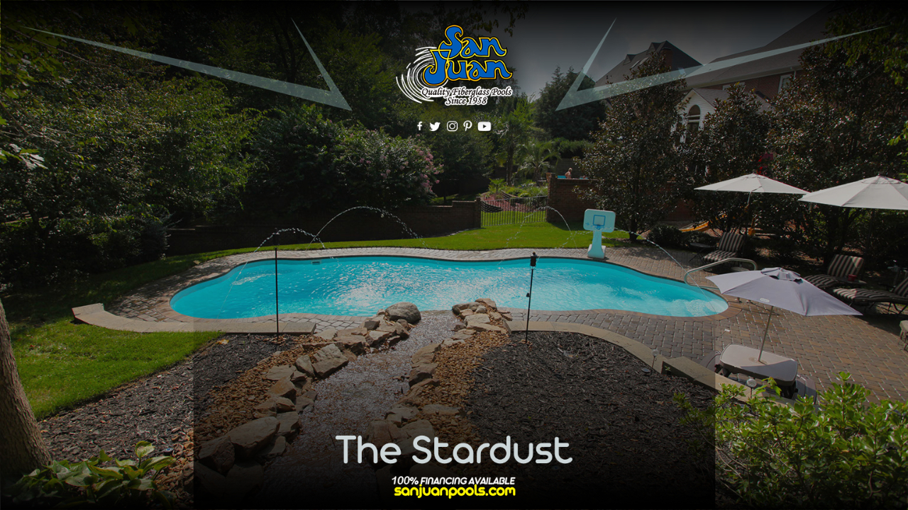 The Stardust – A Free Form Pool Shape