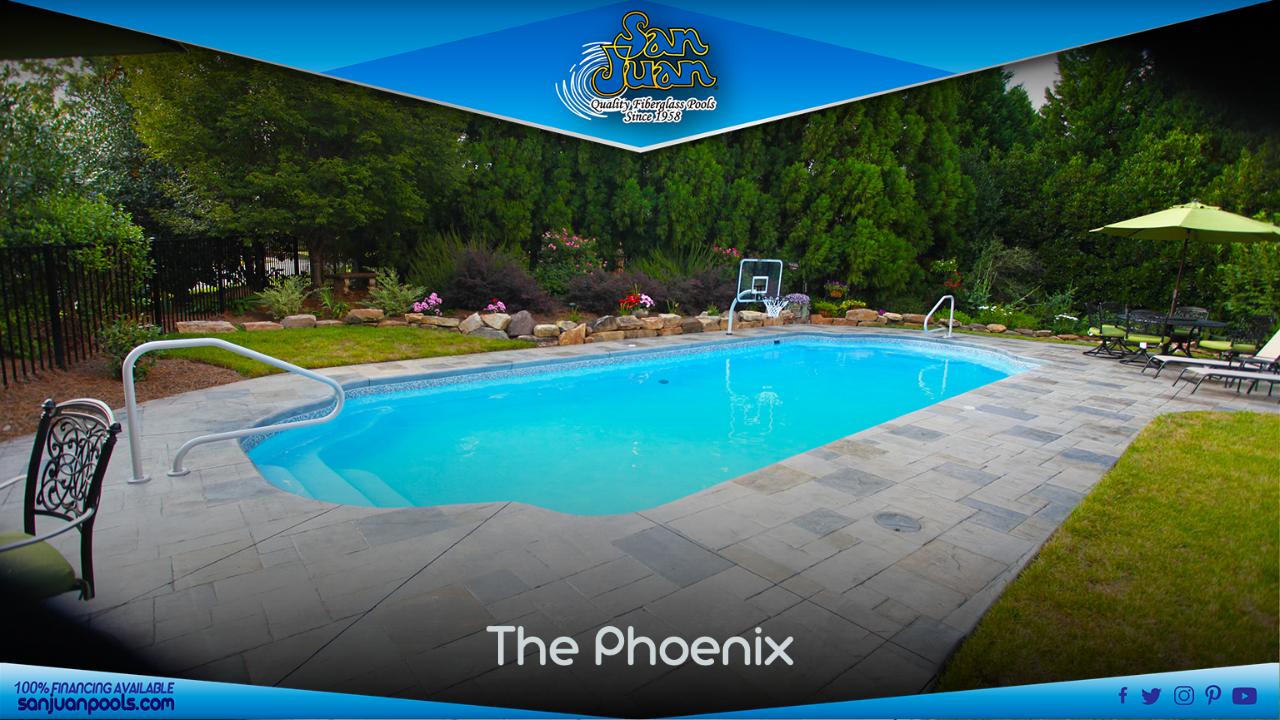 The Phoenix – A Grecian Pool Shape with a Sport Bottom Hopper