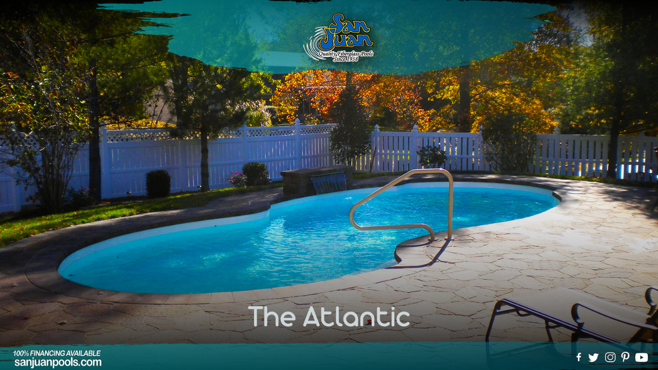 The Atlantic – A Free Form Pool Design with Classic Layout