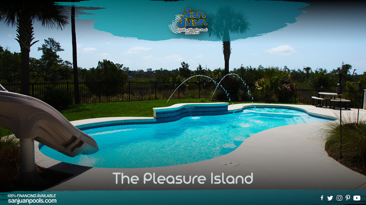 The Pleasure Island – Elegance and Beauty with a Free Form Design