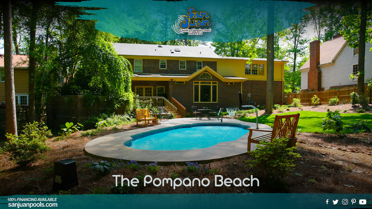 The Pompano Beach – Our Fun Twist on a Roman Pool Shape