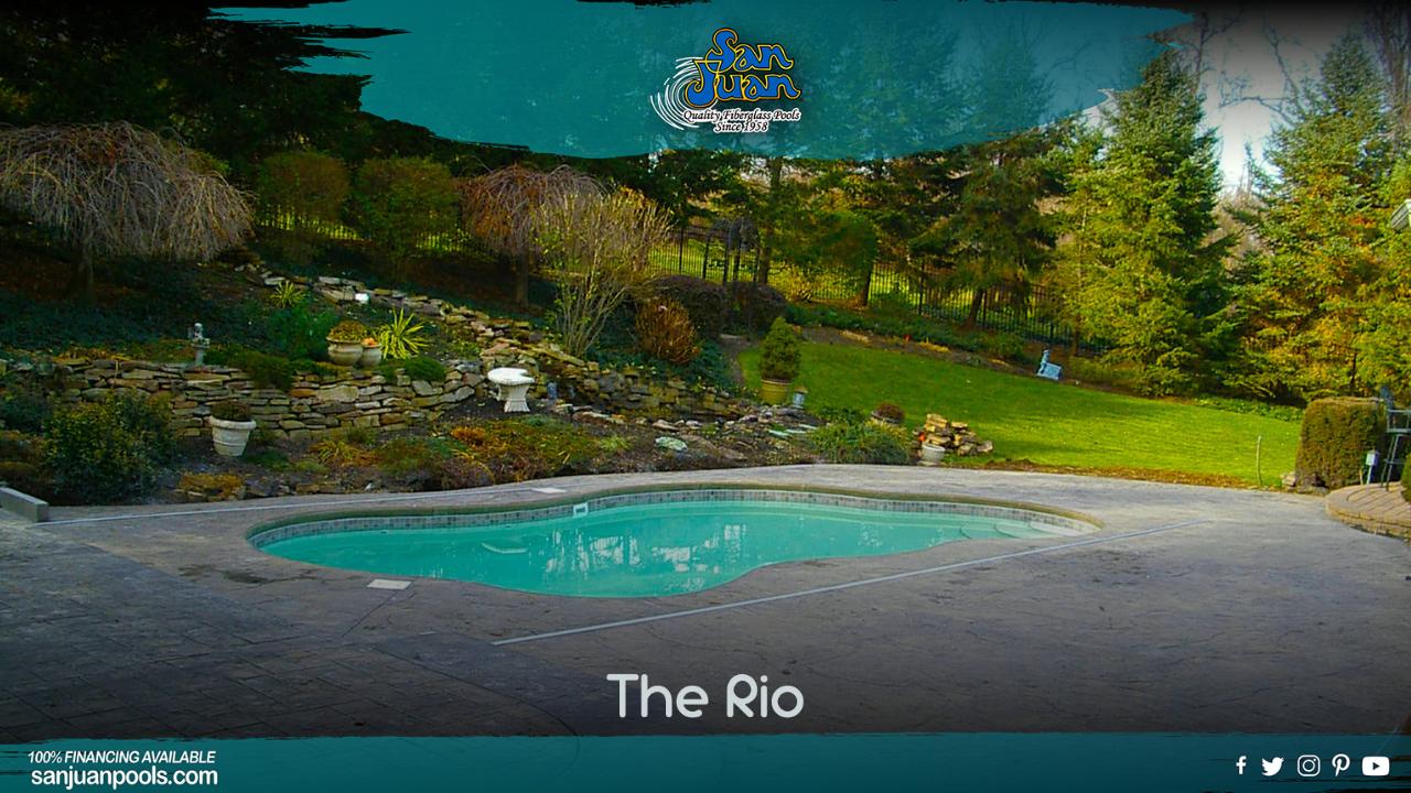 The Rio – A Medium Sized Free Form Shape