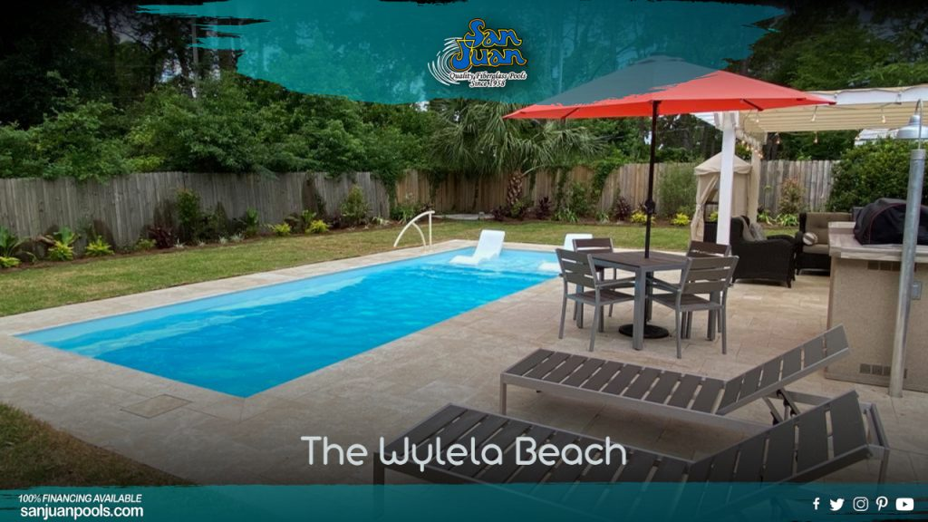 The Wylela Beach provides a lot of desirable attributes for our San Juan Pools clients.