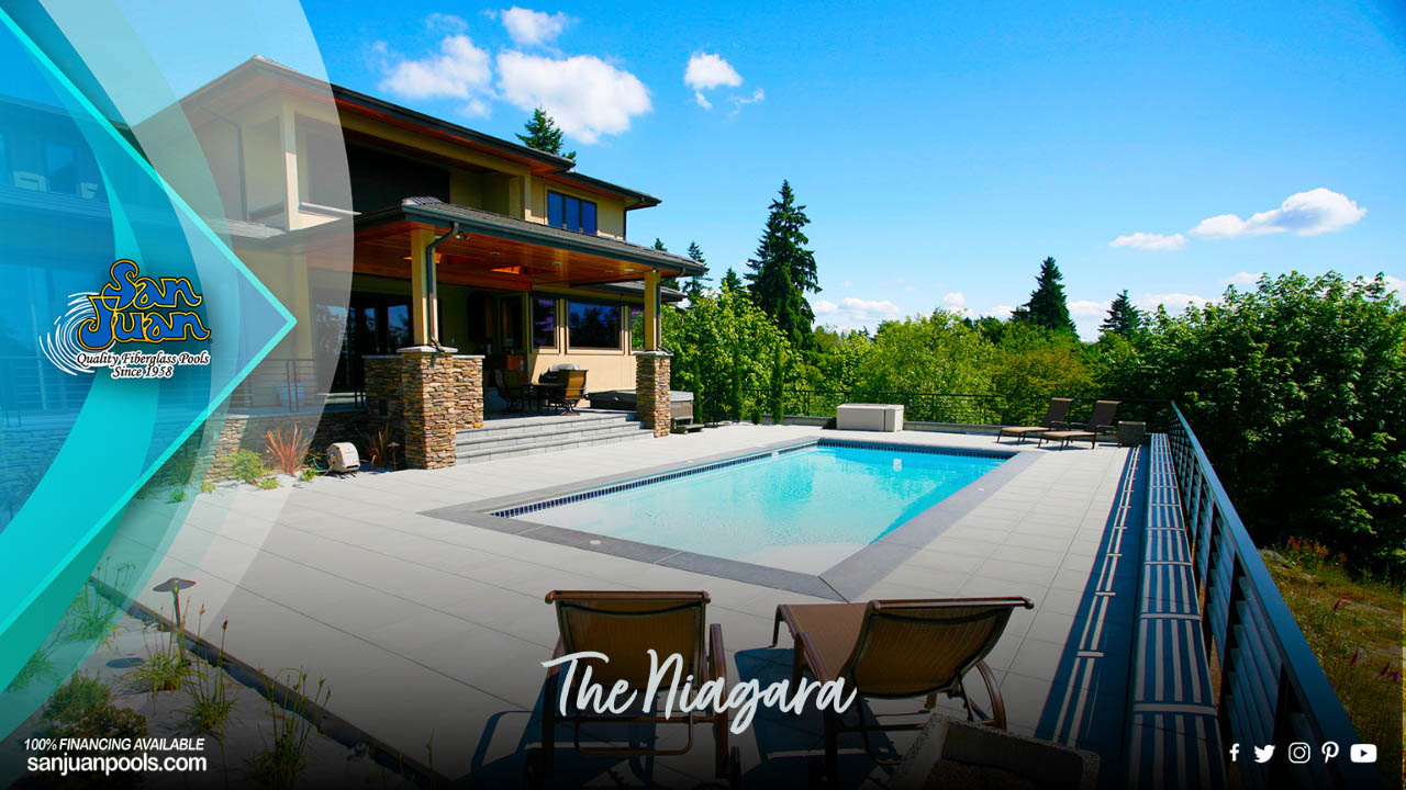 The Niagara – A Medium Size Deep End Pool