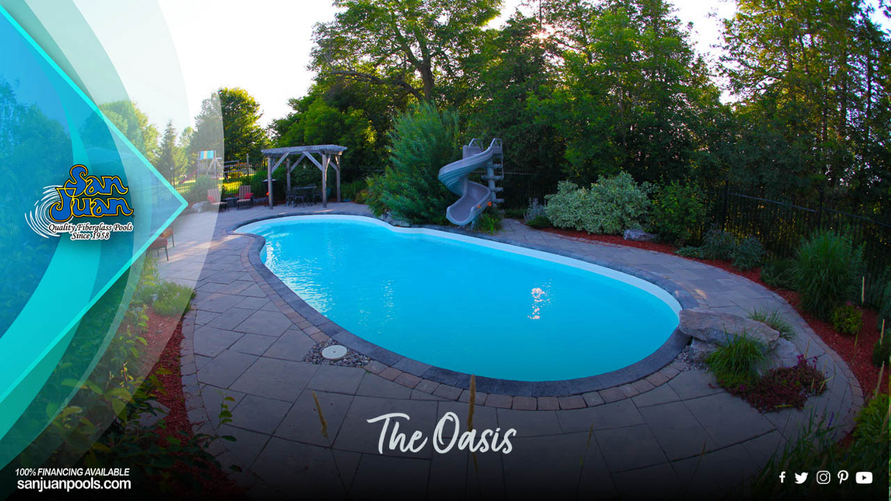 The Oasis is a fantastic option to elevate the fun of your outdoor living space.