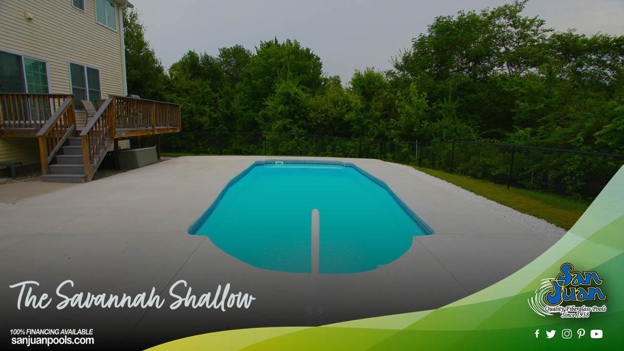 The Savannah Shallow – A Fun Twist on the Grecian Pool Shape