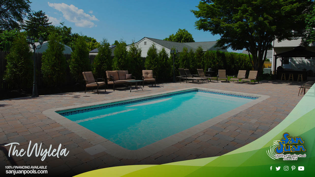The Wylela – A Rectangle Pool Shape with Personality