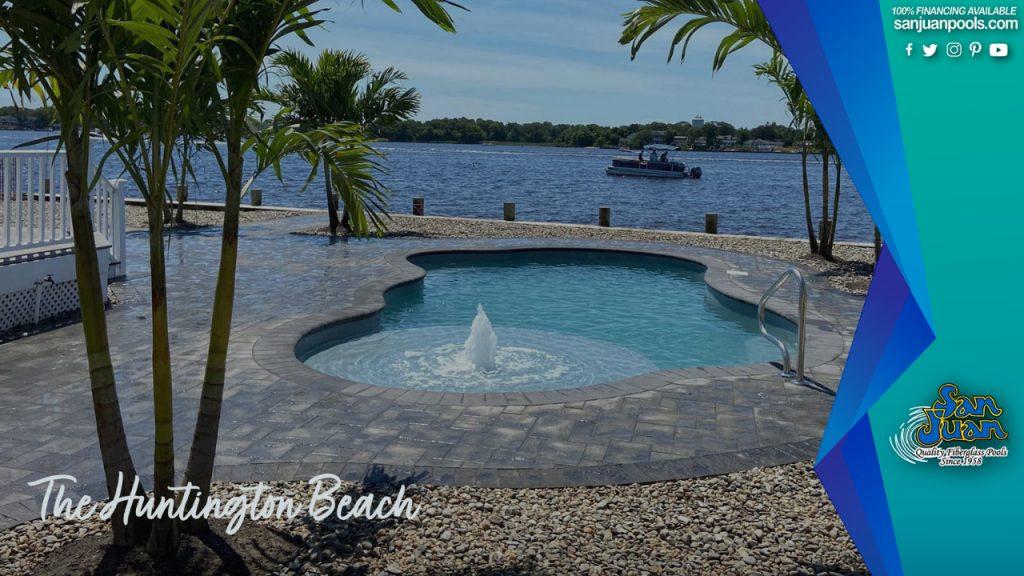 Huntington Beach: A Free Form Beach Entry Pool