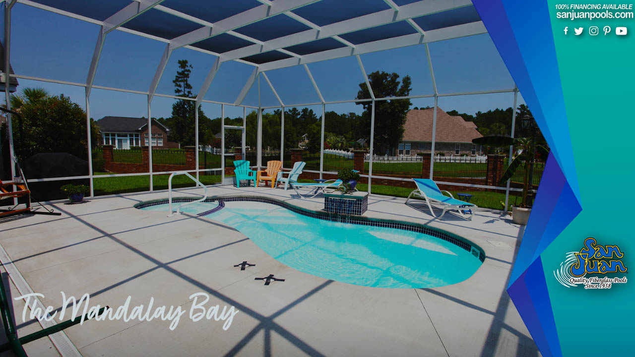 The Mandalay Bay – An All-in-One Free Form Fiberglass Pool