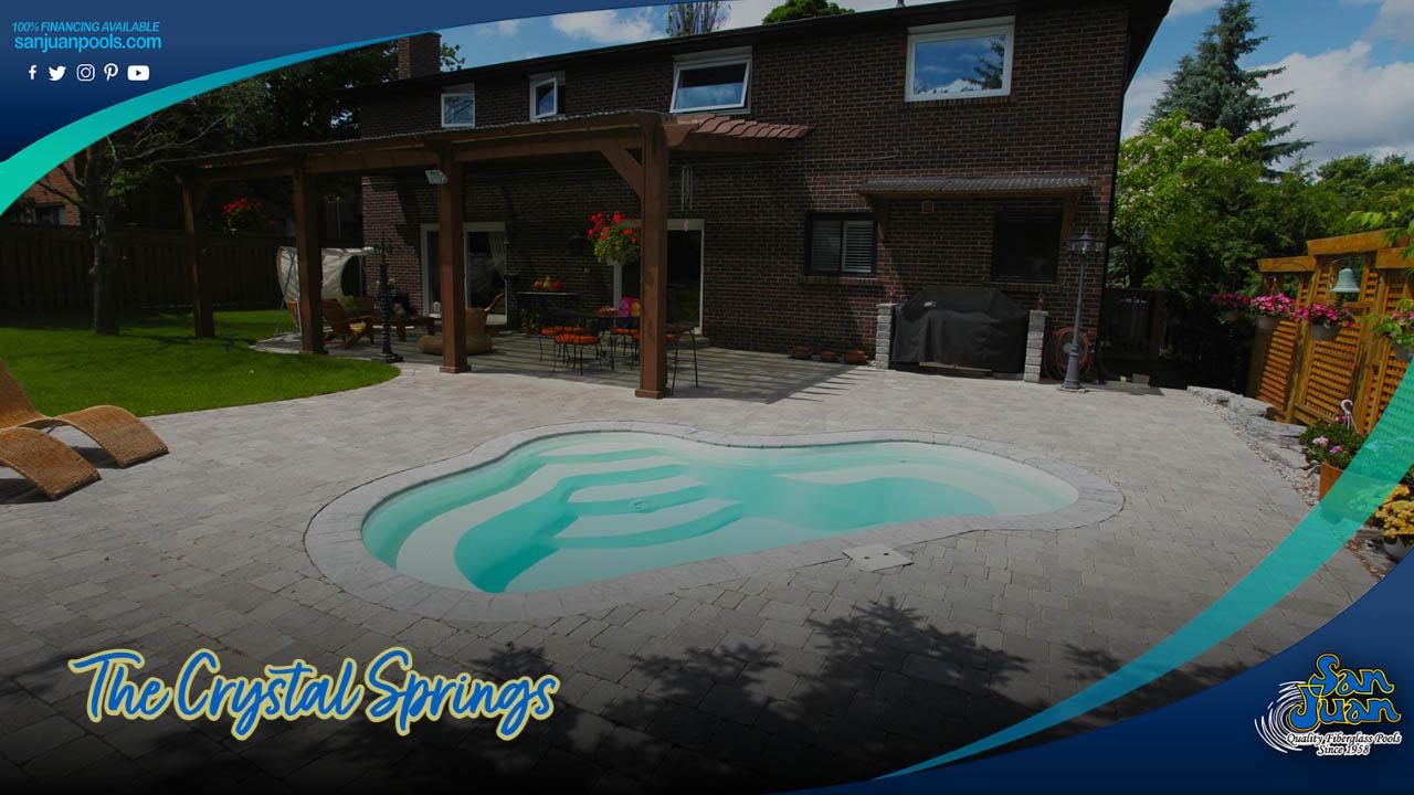 The Crystal Springs – Fiberglass Pool and Spa Hybrid Model