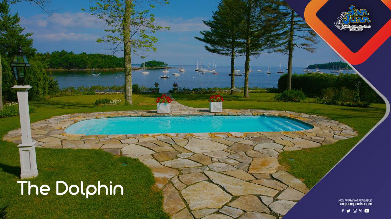 The Dolphin – A Grecian Pool Shape