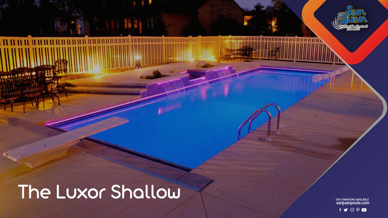 The Luxor Shallow - Beautifully Designed Rectangle Shape