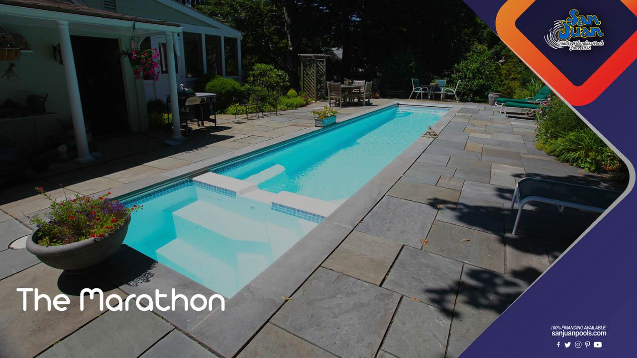 The Marathon – Our Rectangular Lap Swimming Pool